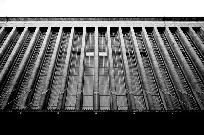 Eyeem Tempelhof Adventure Black And White Urban Jungle Rows Of Things Architecture Architecture_bw Brutalist Architecture Lines And Shapes Open Edit