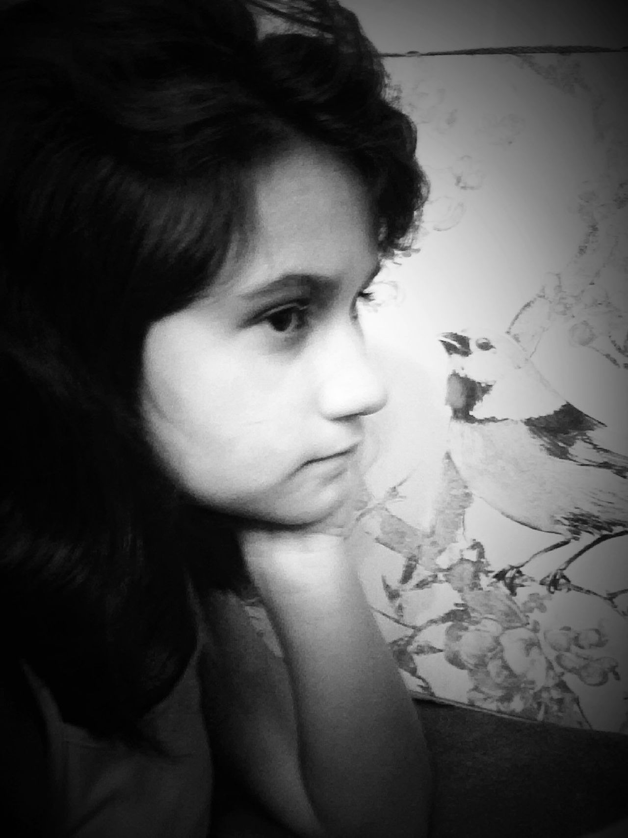 Amber Thinking Looking Pausing Blackandwhite Girl Portrait Capturing TheNOW and Forever .