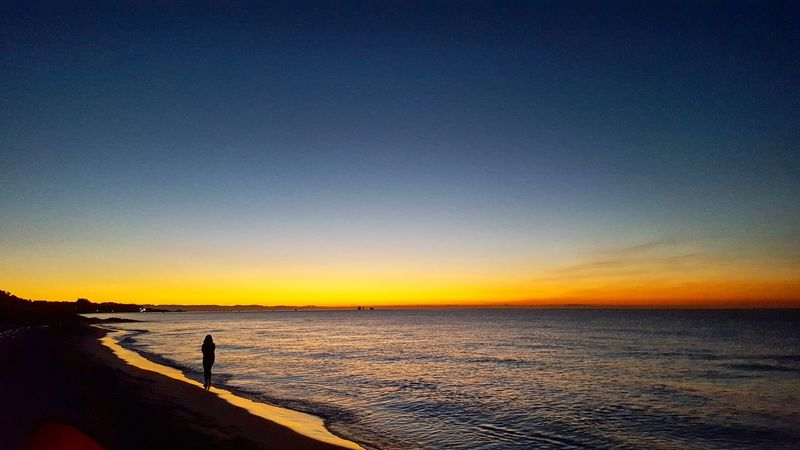 Galaxys6edge Italy Sardinia Nature Summer Summertime Sky Skyporn Sunrise Sea Sea And Sky Beach Blue Blue Sky Water Sand Orizon Morning