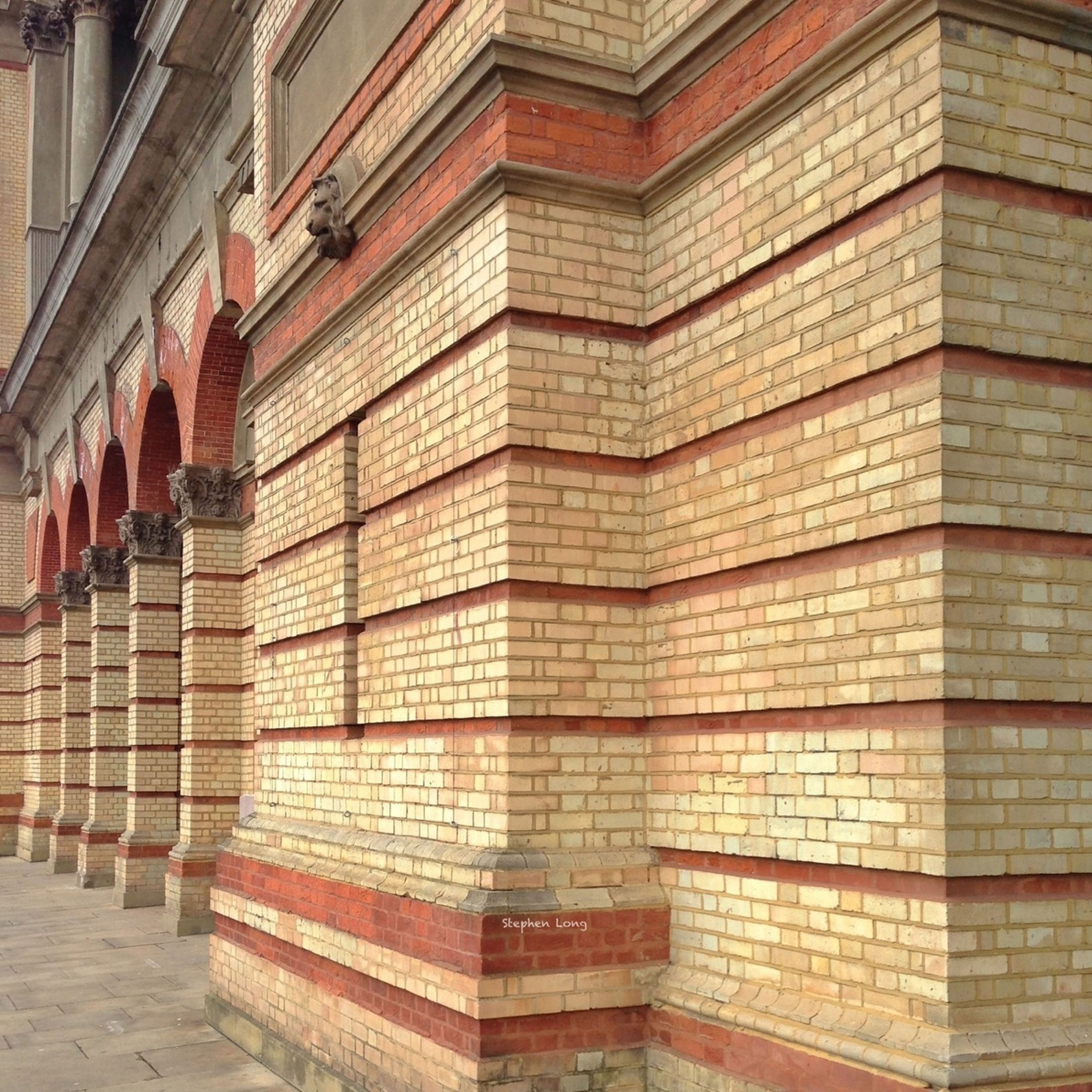 architecture, building exterior, built structure, building, city, window, pattern, modern, brick wall, repetition, low angle view, day, wall - building feature, in a row, no people, office building, architectural feature, residential building, outdoors, exterior