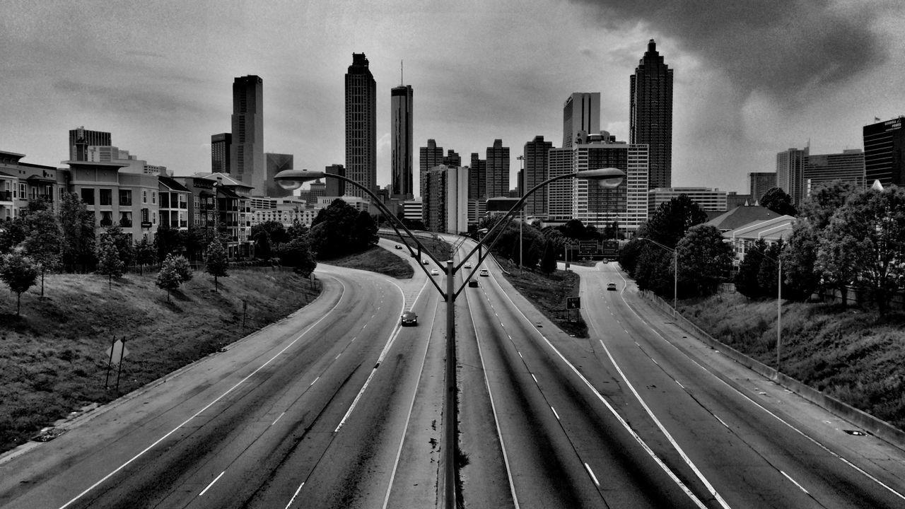 Blackandwhite Urban Landscape