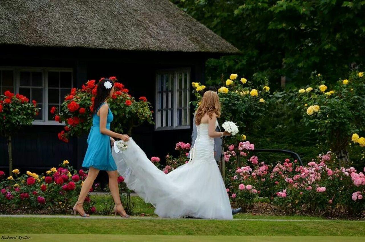 Runnerwaybride Bride Marriage  Wedding Wedding Dress VictoriaPark Bridesmaid White Check This Out Nikon D3200