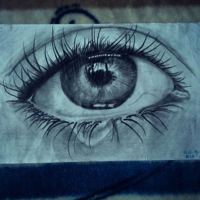 Mysketch Mysketchbook Drawing Artofinstagram Artsy ArtPop Artsanity Sketching Sketch Passion Sketchbook Eyes Tear Teardrop K2b Artpix Pencilart Bnw Blackandwhite Pupil Longlashes Illusion XPERIA Home Dharamshala