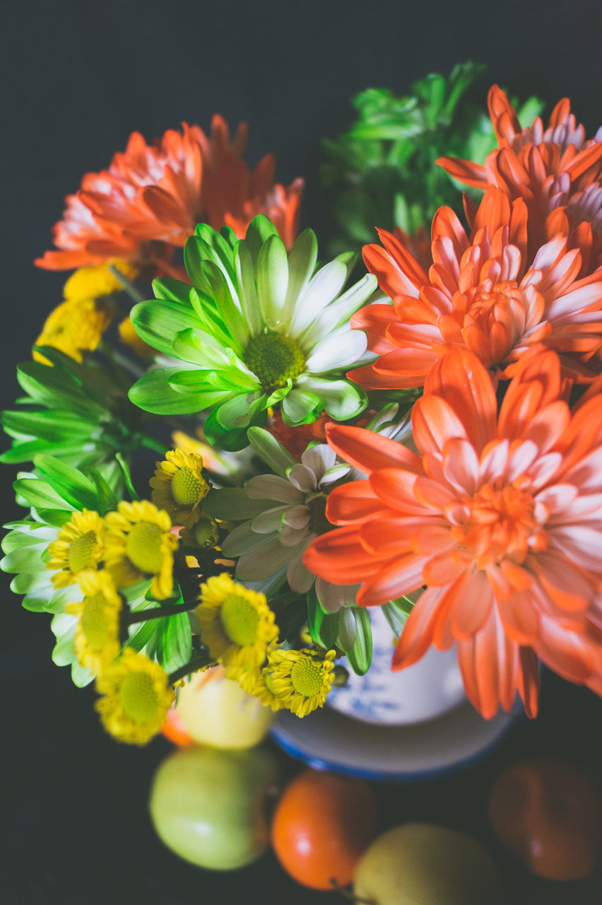 flower, petal, orange color, fragility, freshness, beauty in nature, flower head, no people, nature, close-up, growth, plant, day, outdoors