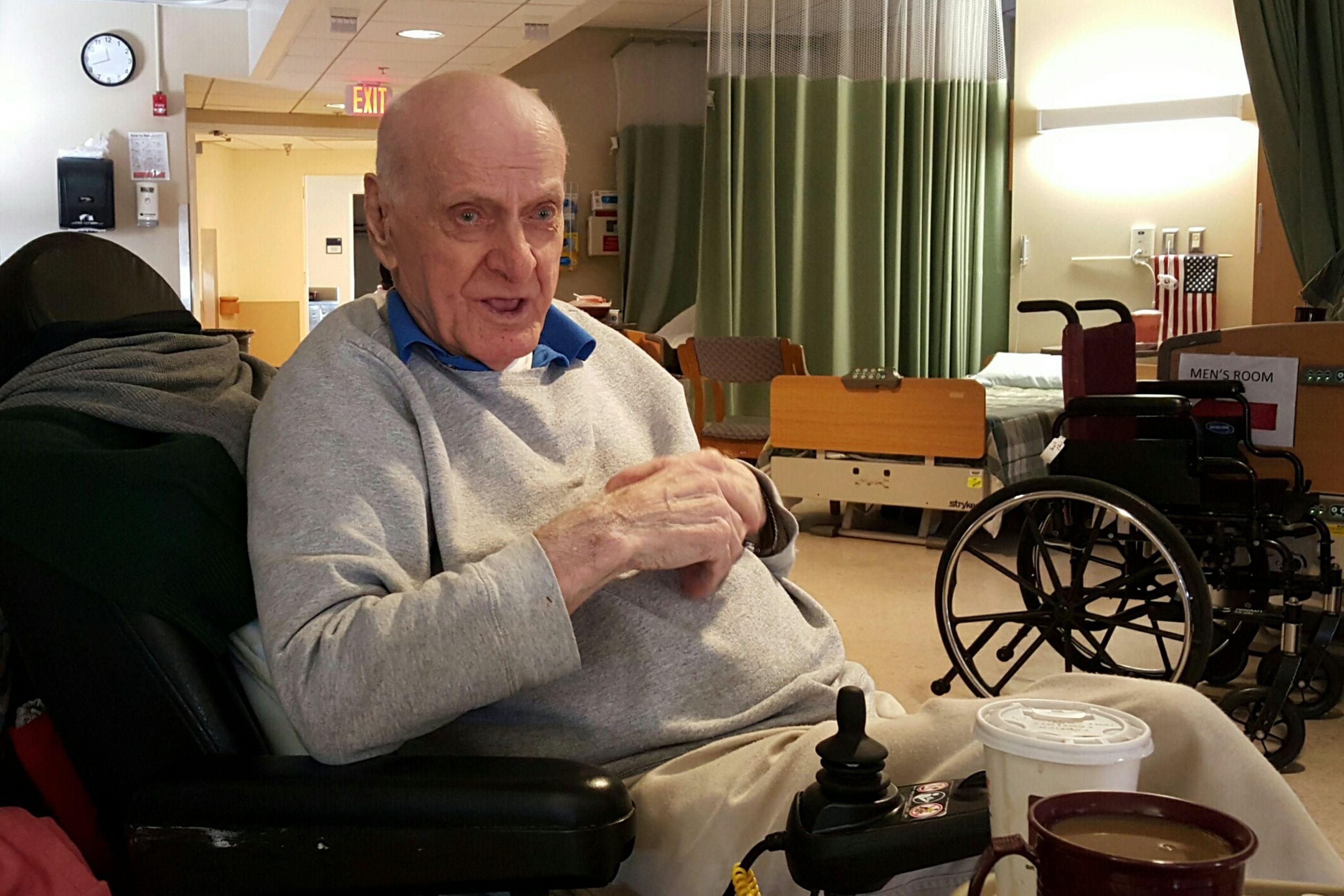 Portrait of my Uncle Al, 93. WWII Veteran S6