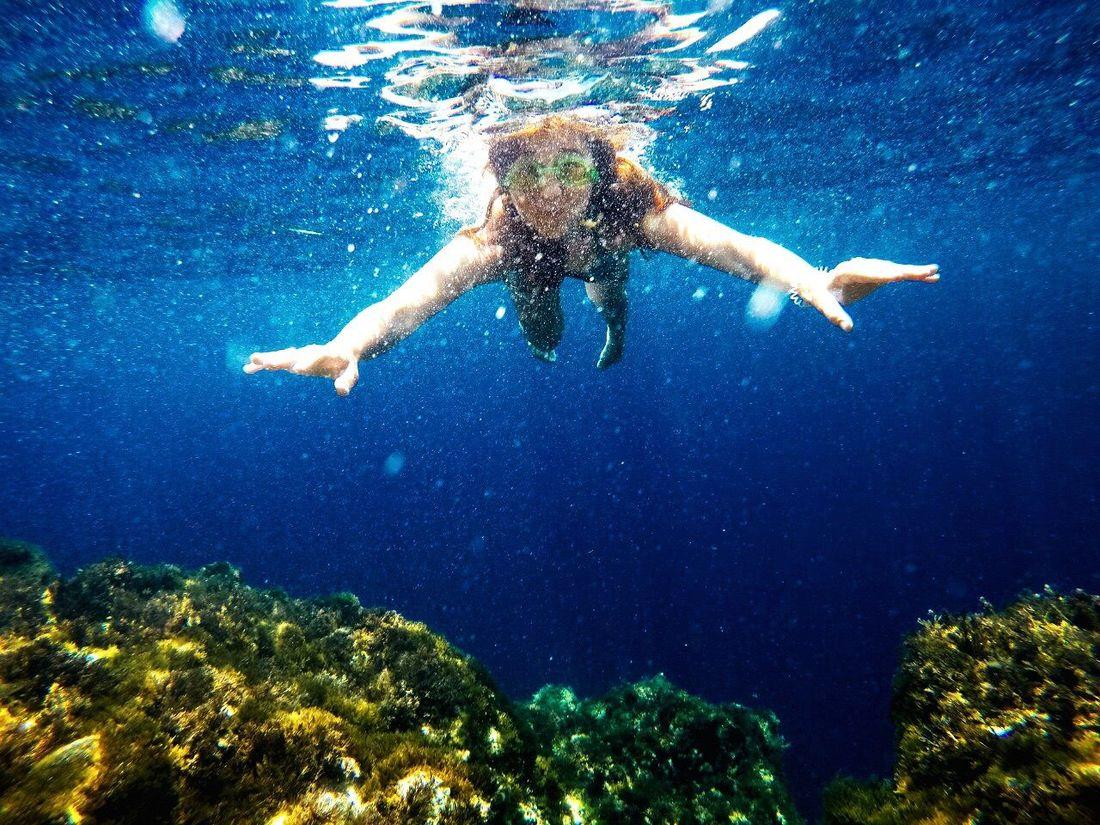 Happy Summer Malta Bluegrotto подводный мир