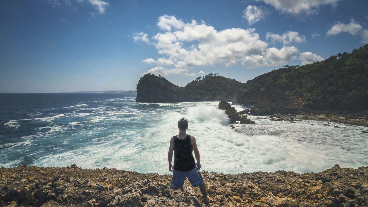 Rough Sea at the Edge Of The World - Landscape Freedom Folk Sea Eye4photography  EyeEm