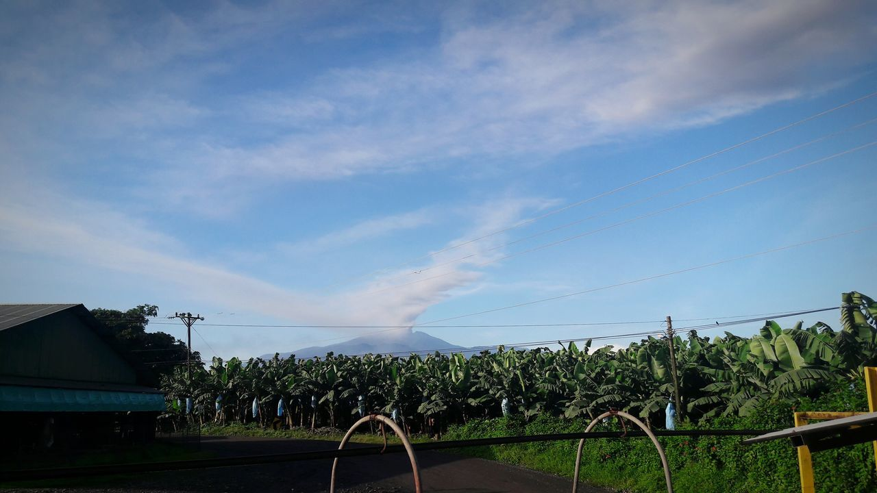 Cloud - Sky Turrialba Volcano Banana Farm Active Volcano Day Beauty In Nature Guácimo Farm