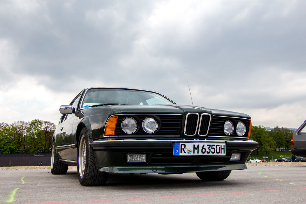 BMW Alpina Bmw Car Car Trade Cloud - Sky Day Land Vehicle Mode Of Transport Munich No People Old-fashioned Outdoors Sky Transportation Vintage Cars