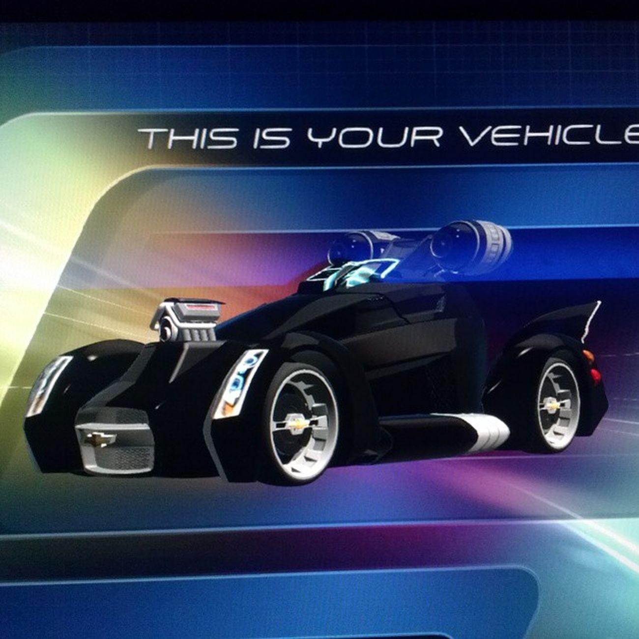 My car design at Testtrack at DisneyWorld Disney Epcot