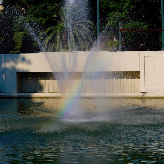 Louis Armstrong Park New Orleans Fountain Rainbow Water Check This Out Taking Photos Taking Photos