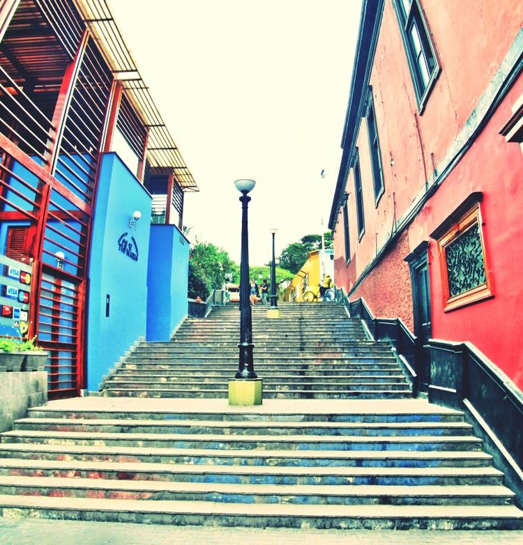 Relaxing Stairs Colors Oldtown