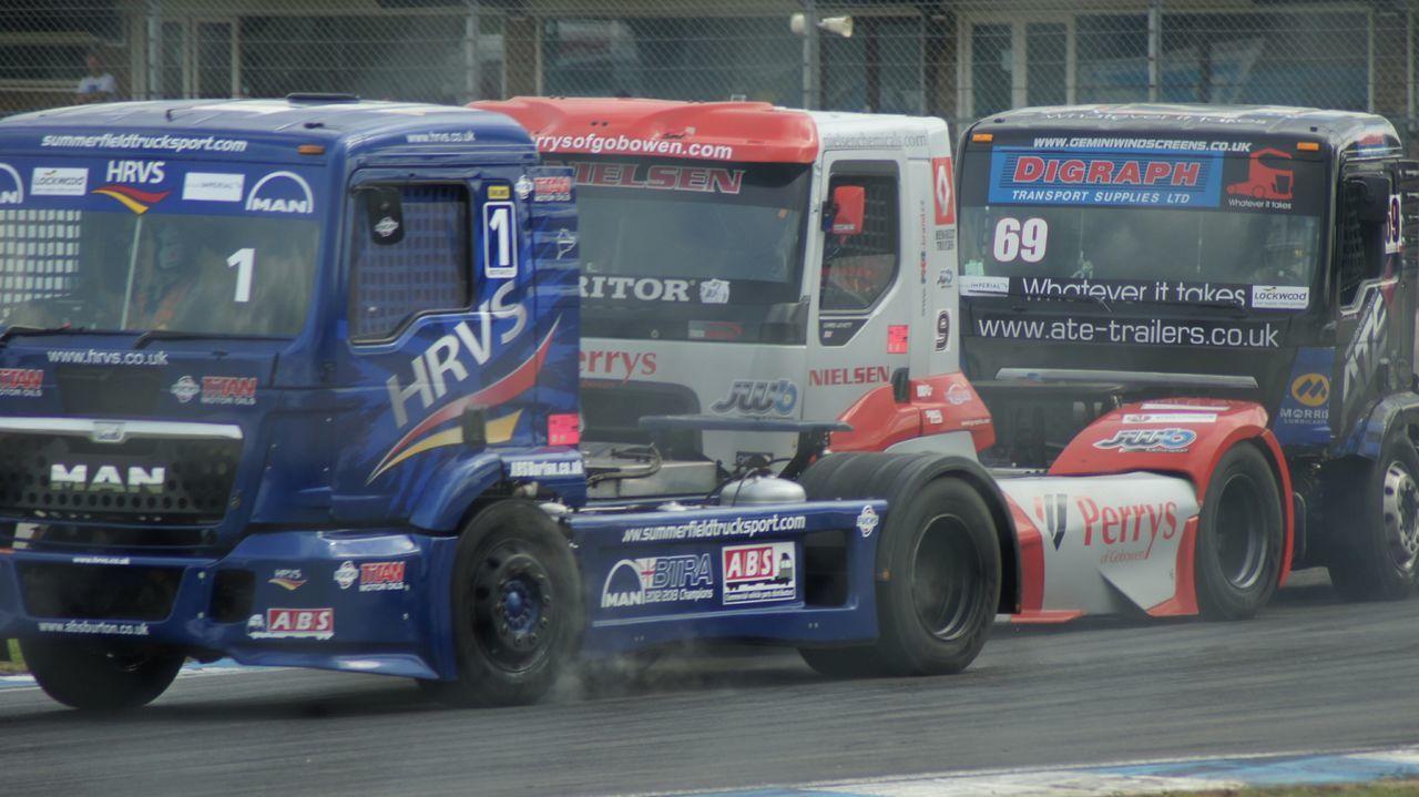 Truck Racing at Donington. Race Tracks Motor Racing Racing Truck Racing Truck Speed