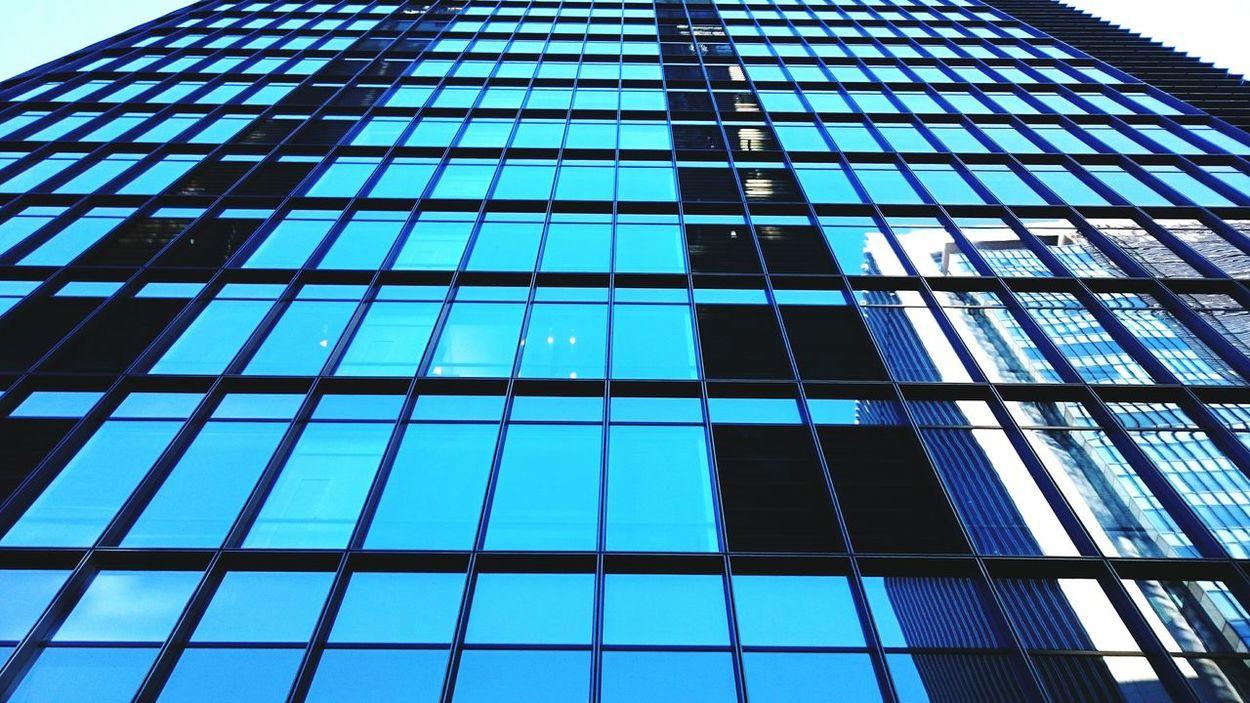 Cityscape Tokyo Building Perspective Windows