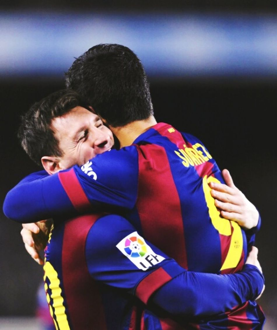 Football Lionel Messi Luis Suarez FCBarcelona