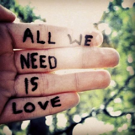 Love All We Need Is Love