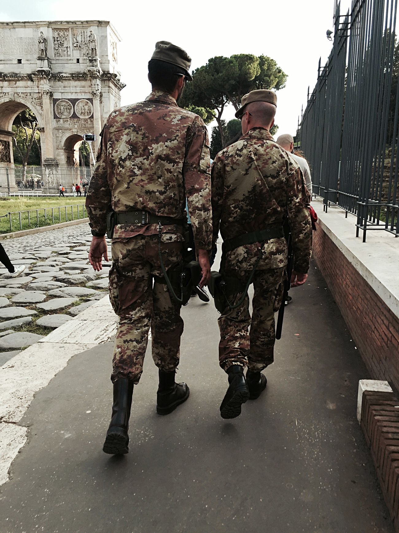 Streetphotography Military Police