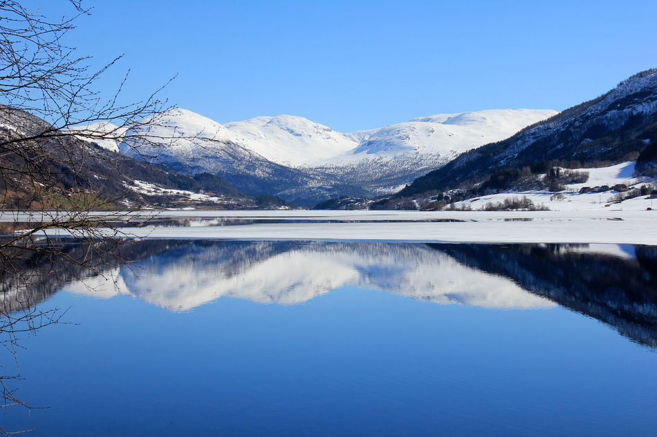 Beautiful stock photos of norway, Beauty In Nature, Blue, Clear Sky, Cold Temperature