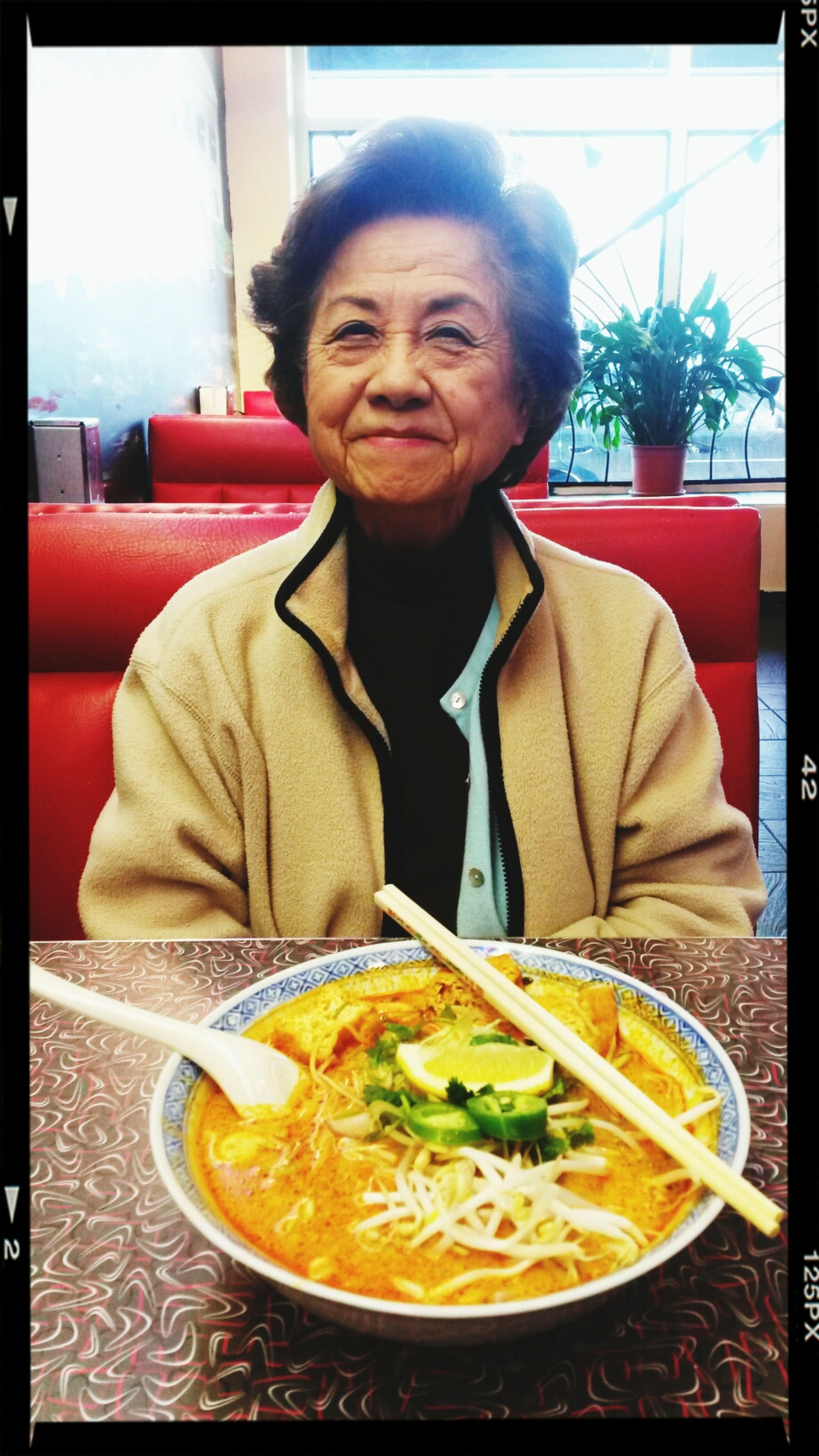 Cutest Grandma of them all. Asiangrandma Noodleswag