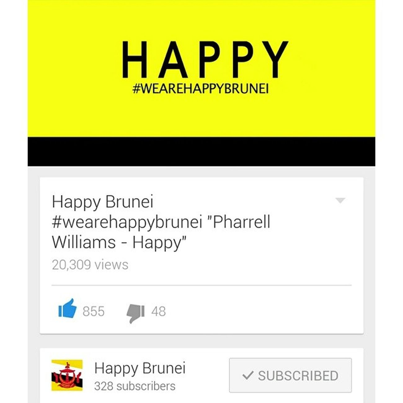 If you're happy and you know it clap your hands... 20k+ views and counting. Brunei Wearehappybrunei HappyBrunei HappyBN bruneiunited HappeningsBN InstaBruDroid Andrography