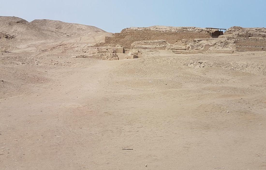Landscape Desert Sand Arid Climate Desert Ancient Old Ruin Ancient Civilization Built Structure Check This Out! Travel Destinations Pachacamac Lima,Perú