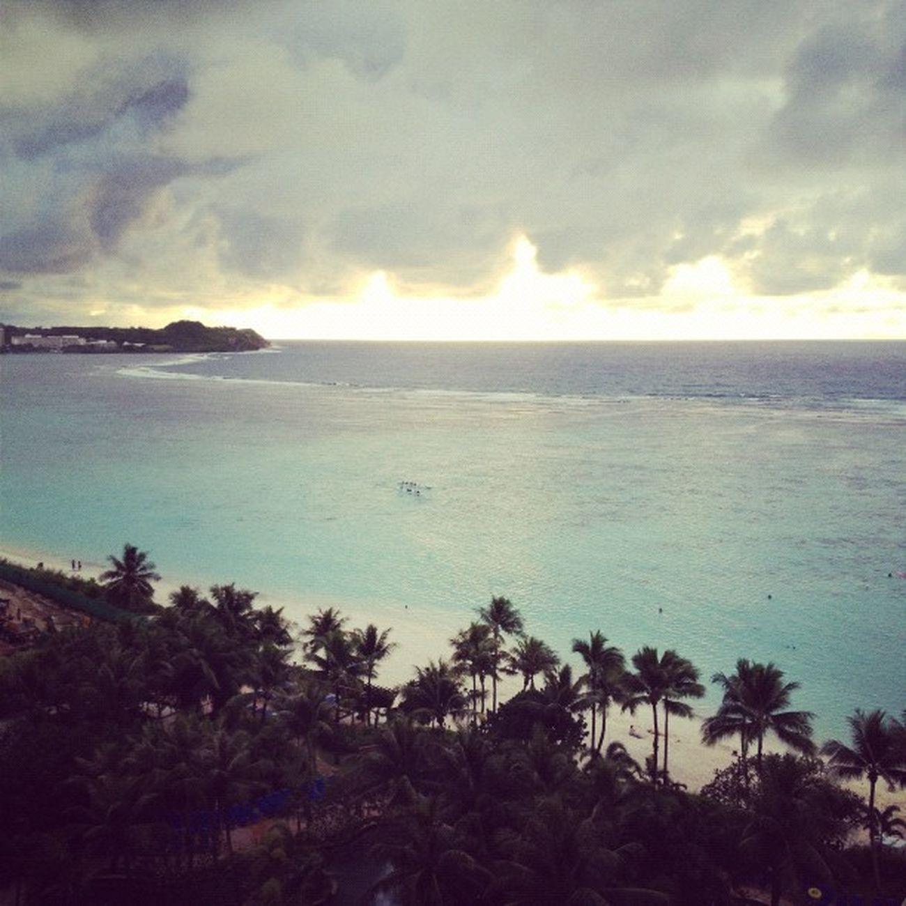 海、綺麗だー♪ Sea Guam Webstagram Hafaadai グアム
