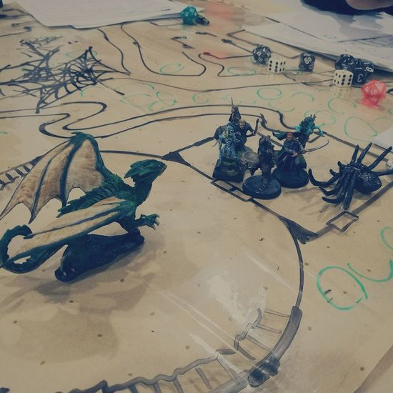 From our third experience playing Dnd. We did not kill this Dragon but better yet, it only killed one of us. Success! First Eyeem Photo