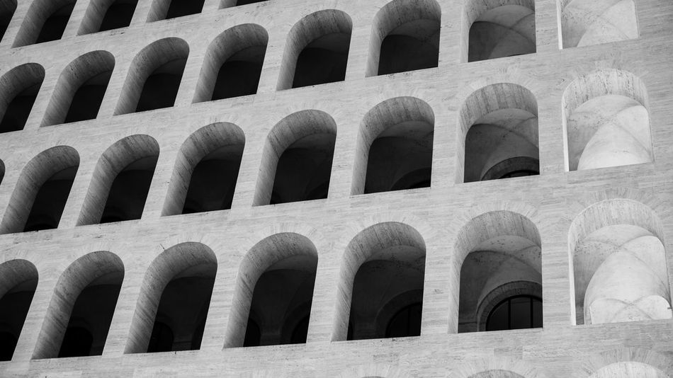 Architectural Feature Architecture Architecture Architecture_collection Backgrounds Colosseo Colosseo Quadrato Day EUR Europe Full Frame Italia Italy❤️ Lightroom Monuments No People Outdoors Roma Rome Rome Italy So Sonya6000 Sonyalpha Sonyimages