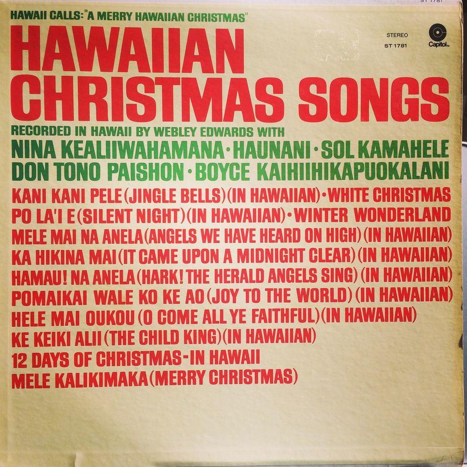 Enjoying Life Hawaiicalls Hawaiian Music Christmas Song Hawaii Calls Vinyl Analog Records