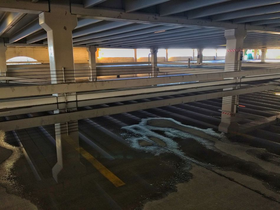 """""""Flooded Parking Garage"""" EyeEm Nature Lover IPhoneography"""