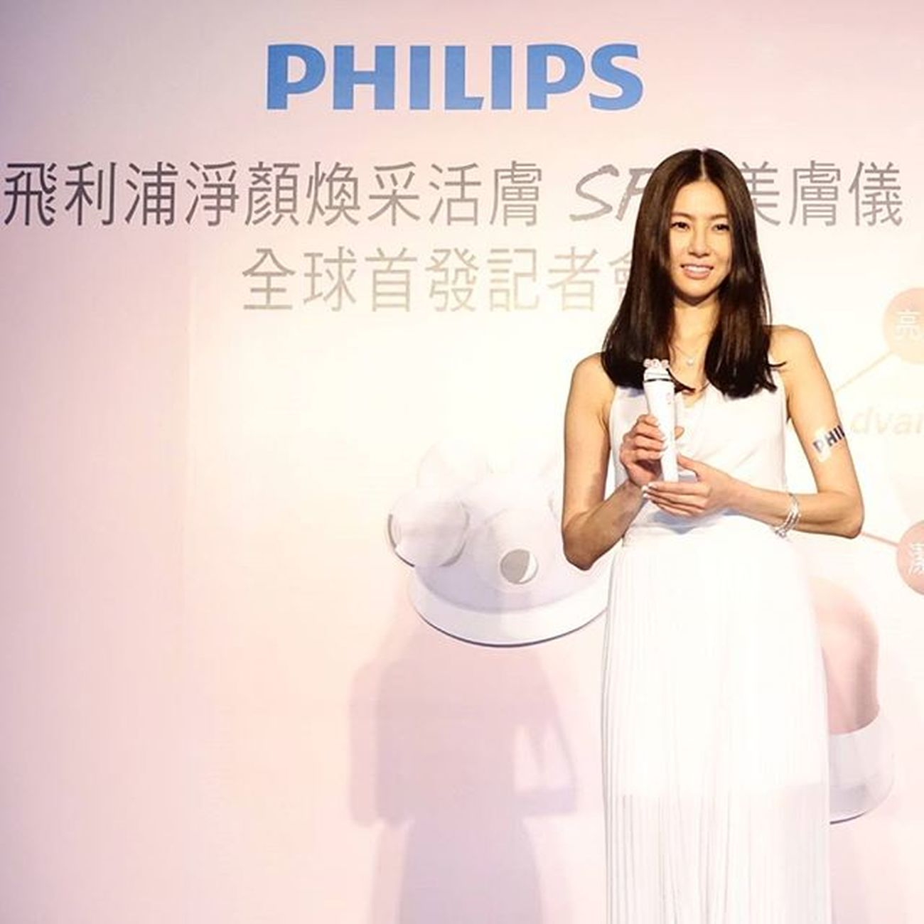 Philips Beauty「VisaPure Advanced淨顏煥采活膚SPA美膚儀」發表會,淨膚+按摩+亮眸導入三合一 Philips Philipsbeauty Visapureadvanced Visapure Skincare Mobile01 愛曼達