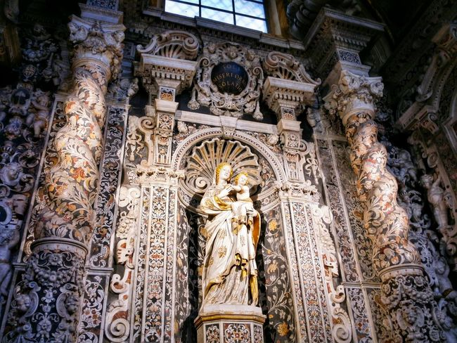 Chiesa Di San Giuseppe Dei Teatini Palermo Sicily Italy Travel Photography Travel Voyage Traveling Mobile Photography Fine Art Baroque Architecture Churches Exquisite Marble Inlays Magnificent Stunning Colours