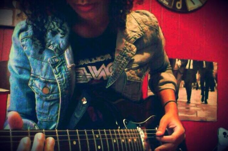 Music Guitar That's Me Hey World First Eyeem Photo