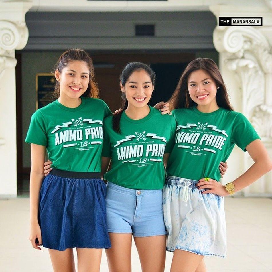 Ina Ongsiako, Jeanine Tsoi, and Billie Capistrano for Green Blooded ? @billiecapis @jeaninebeatrice @inaongsiako @greenbloodedts . . . Greenbloodedts Topmodels Themanansala