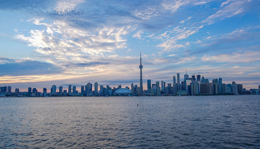 The beauty of Toronto📷🏙🌆🍁🇨🇦 Capital Cities  Centre Island City City Life Cityscape Cloud - Sky CN Tower - Toronto H6me No People Outdoors Skyscraper Tall - High The6ix Toronto Landscape Travel Destinations Urban Skyline Waterfront Hidden Gems