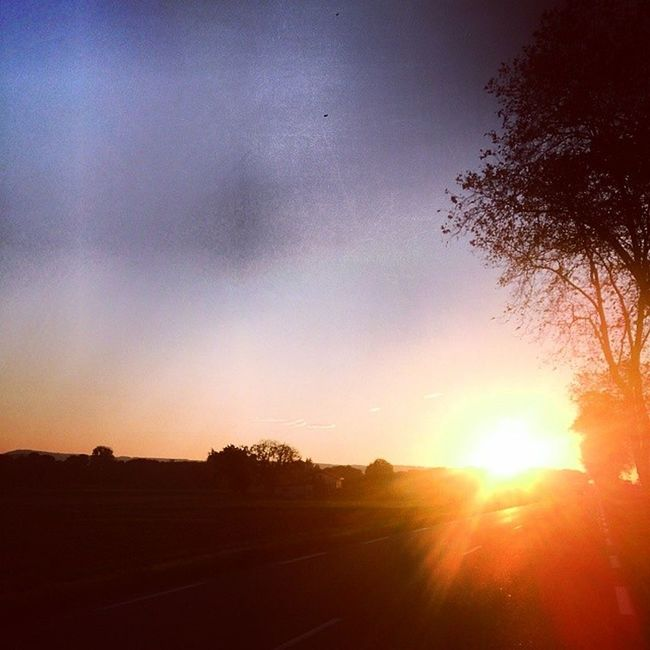 Have a good ride, have a good night. Sunset Sunshine Stravambassador