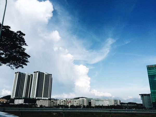 Landscape Landscape_Collection Dramatic Clouds And Sky Clear Sky Dramatic Clouds September 2016 My Point Of View EyeEm Gallery Minimalism Minimalobsession IPhoneography VSCO Vscocam Malaysia