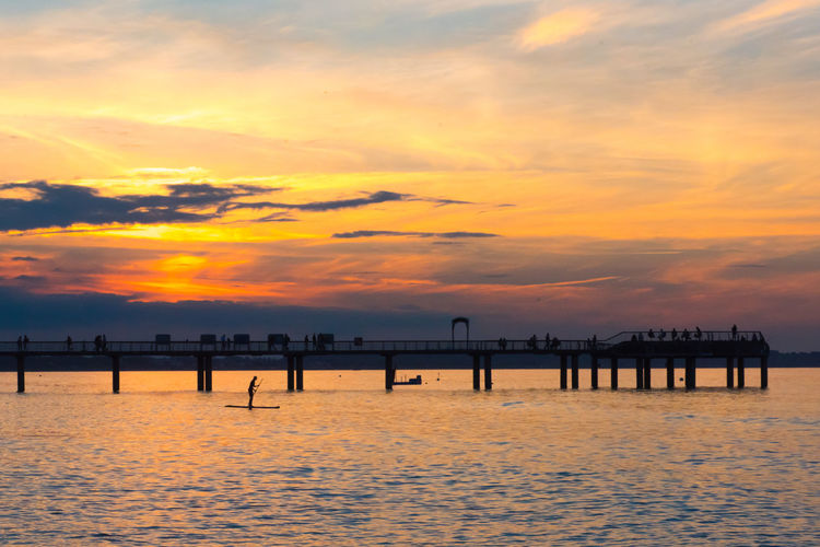 Baltic Sea Footbridge Sunlight Tranquility Beach Beauty In Nature Go-west-photography.com Horizon Over Water Horizon Over Water Tranquility Idyllic Jetty Nature No People Outdoors Scenics Sea Silhouette Sky Sun Sunset Tranquil Scene Tranquility Water