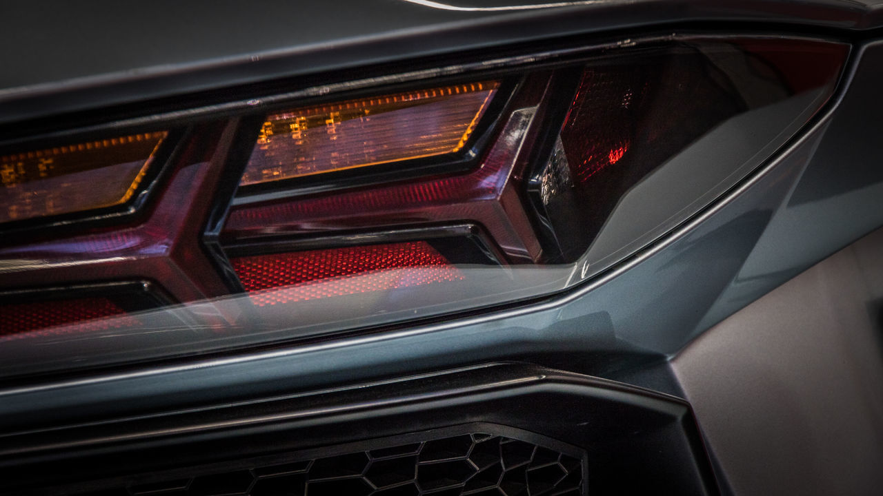 Brake Lights Car Close-up Land Vehicle No People Red Silver  Technology Transportation