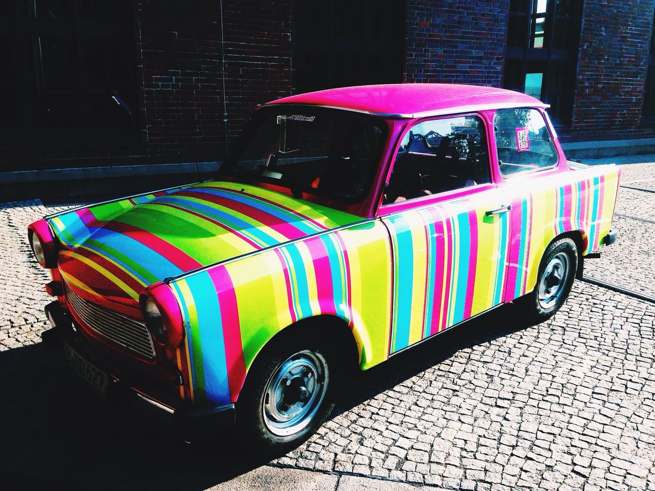 Color Explosion Car Check This Out I ❤ BERLIN