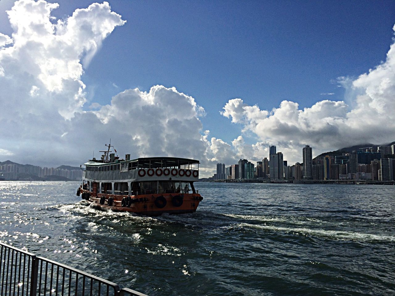 Ferry Enjoying Life Enjoying The Sights Relaxing
