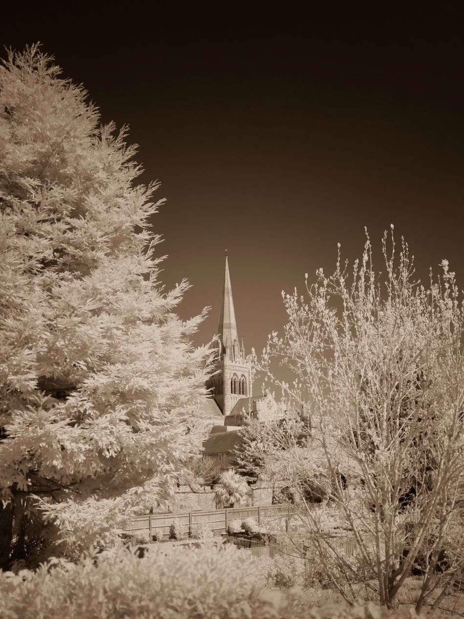Spring Infrared Architecture Outdoors Nature No People Sky