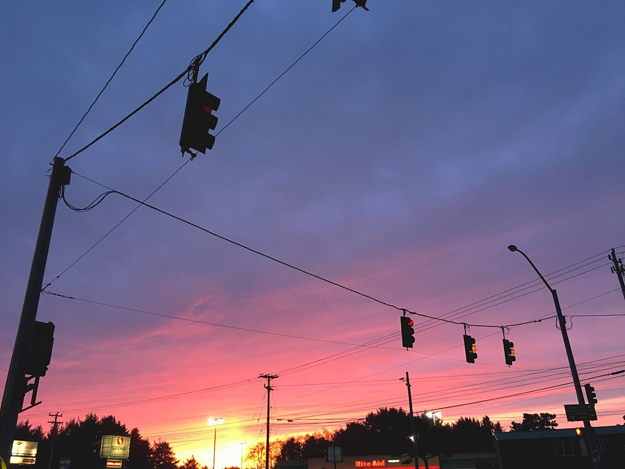 sunset, cable, low angle view, silhouette, transportation, sky, cloud - sky, hanging, outdoors, nature, scenics, beauty in nature, no people, electricity pylon, overhead cable car, day