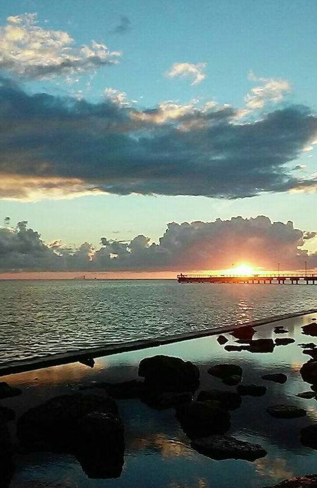 Fine Art Photography Sunrise_Collection Sunrise Storm Clouds Bay Front Clouds And Sky Cloud_collection  Salty Air Showcase: 2016 Water And Sky Collection Beautiful Colors Beautiful Silhouette My Click  EyeEm Best Shots EyeEm Best Shots - Sunsets + Sunrise Best Shots EyeEm Thank You My Friends 😊 💞