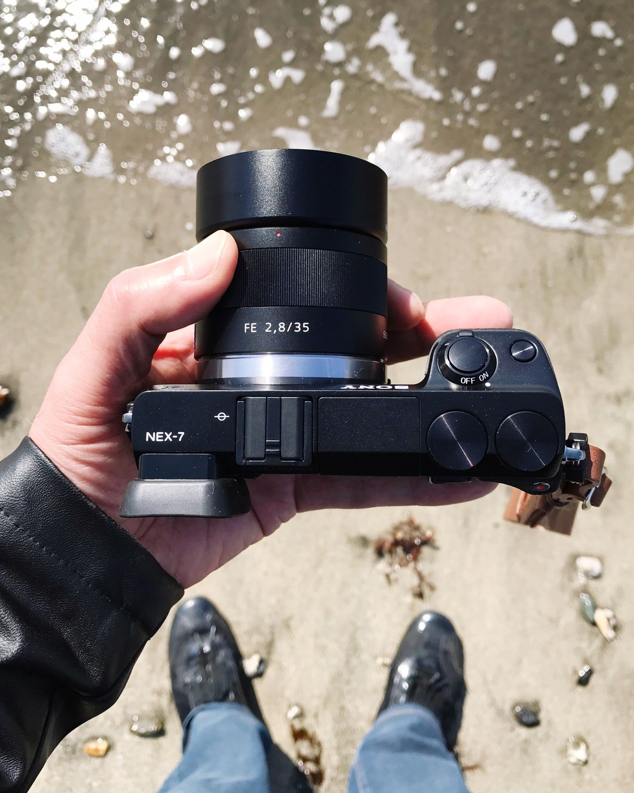 Camera Camera - Photographic Equipment Digital Camera Beach SONY NEX-7(2012) + Sonnar T* FE 35mm F2.8 ZA