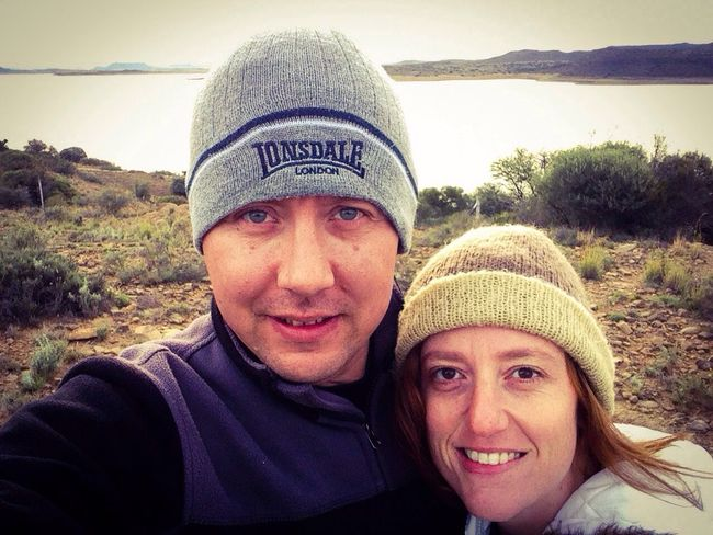 A selfie of my wife and I when we went for a walk at our holiday destination. My Wife ♡ My Wife And I Love Selfie ✌ IPhone Iphone 5 Photoshop Express Filter Filter