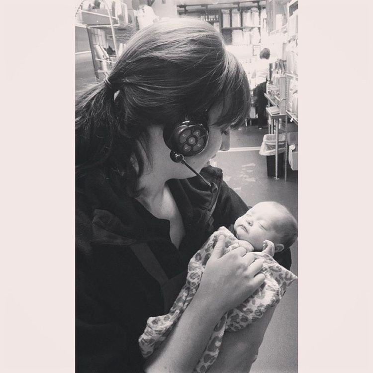There is no such thing as Monday blues when there are babies at work. My heart is happy. Kimberleigh Happymonday  Iwantone Jkicanwait nobutreally