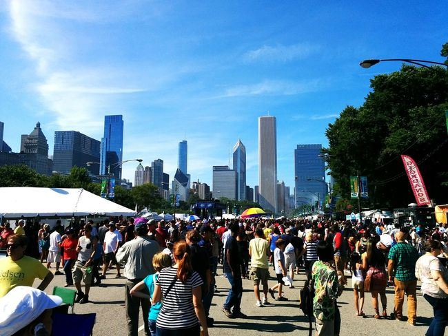 Taste Of Chicago Food Festival Chicago Food Festival Taste Of Chicago Food Delicious Crowd Busy Cityscapes Urban Lifestyle A Taste Of Life