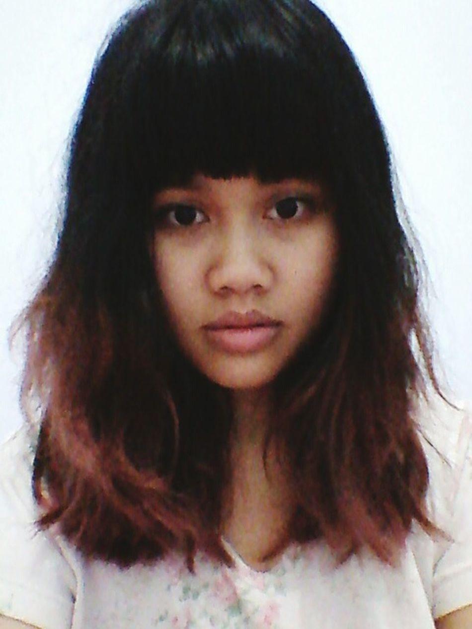 Last night selfie Girl Asian  Beauty
