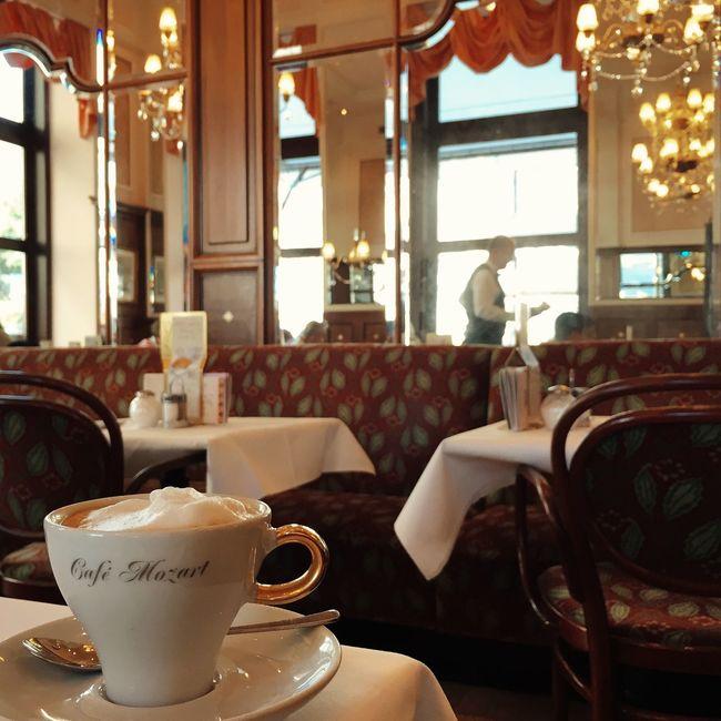 Mozart Cafe Cafe Vienna Vscocam